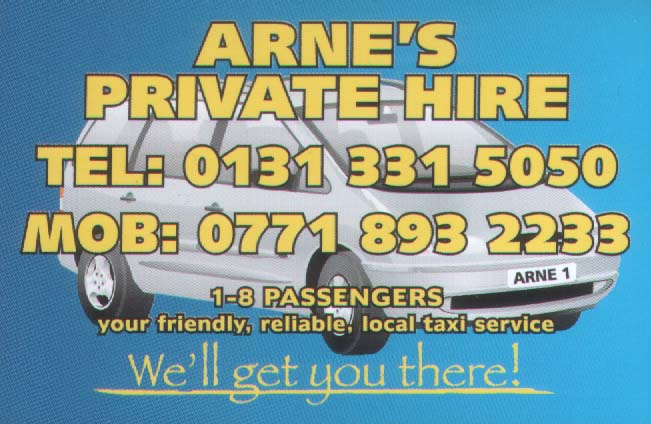 Arne's Private Hire